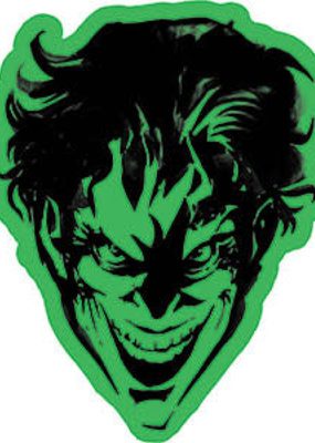 C & D Visionary Sticker The Joker 4x5 Inches