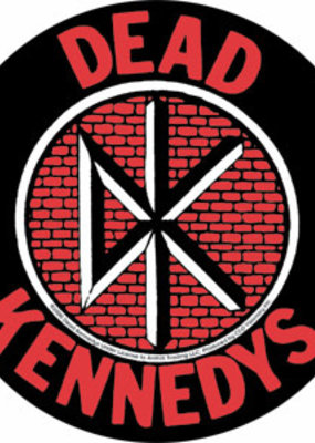 C & D Visionary Sticker Dead Kennedys 4 Inch