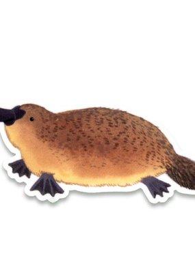 Cactus Club Sticker Platypus