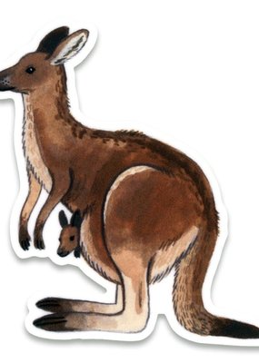 Cactus Club Sticker Kangaroo