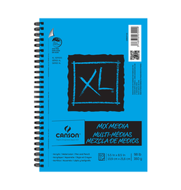 Canson XL Mixed Media 5.5 x 8.5 Spiral Bound 60 sheets