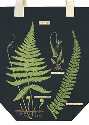 Cavallini Papers & Co. Tote Bag Fern