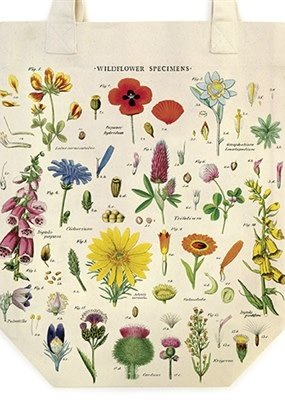 Cavallini Papers & Co. Tote Bag Wildflower