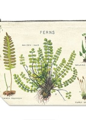 Cavallini Pencil Pouch Ferns