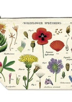 Cavallini Papers & Co. Pencil Pouch Wildflowers
