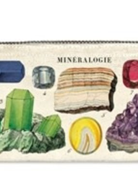 Cavallini Mini Pencil Pouch Mineralogie