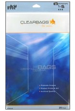 Clear Bags Clear Bags 6 x 8 Photo 25pc