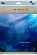 """Clear Bags Clear Bags  8"""" x 10"""" 25 Piece Pack"""