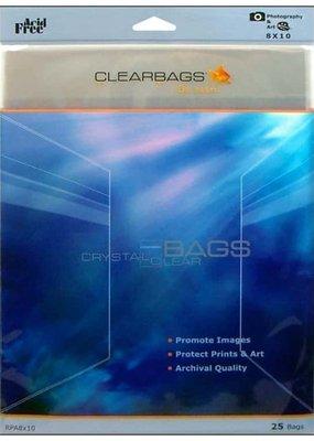 Clear Bags Clear Bags  8 x 10