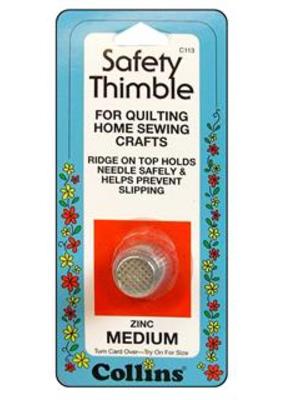 Collins Collins Safety Thimble Zinc Medium Zinc