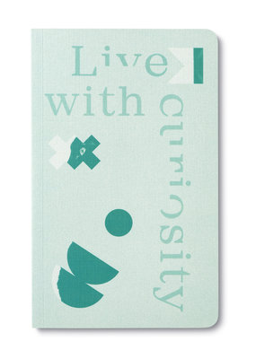 Compendium Inc. Softcover Notebook Live With Curiosity