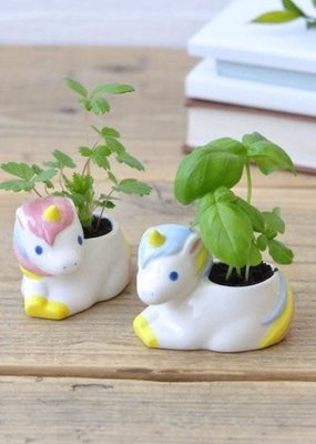 noted Unicorn Green Planter