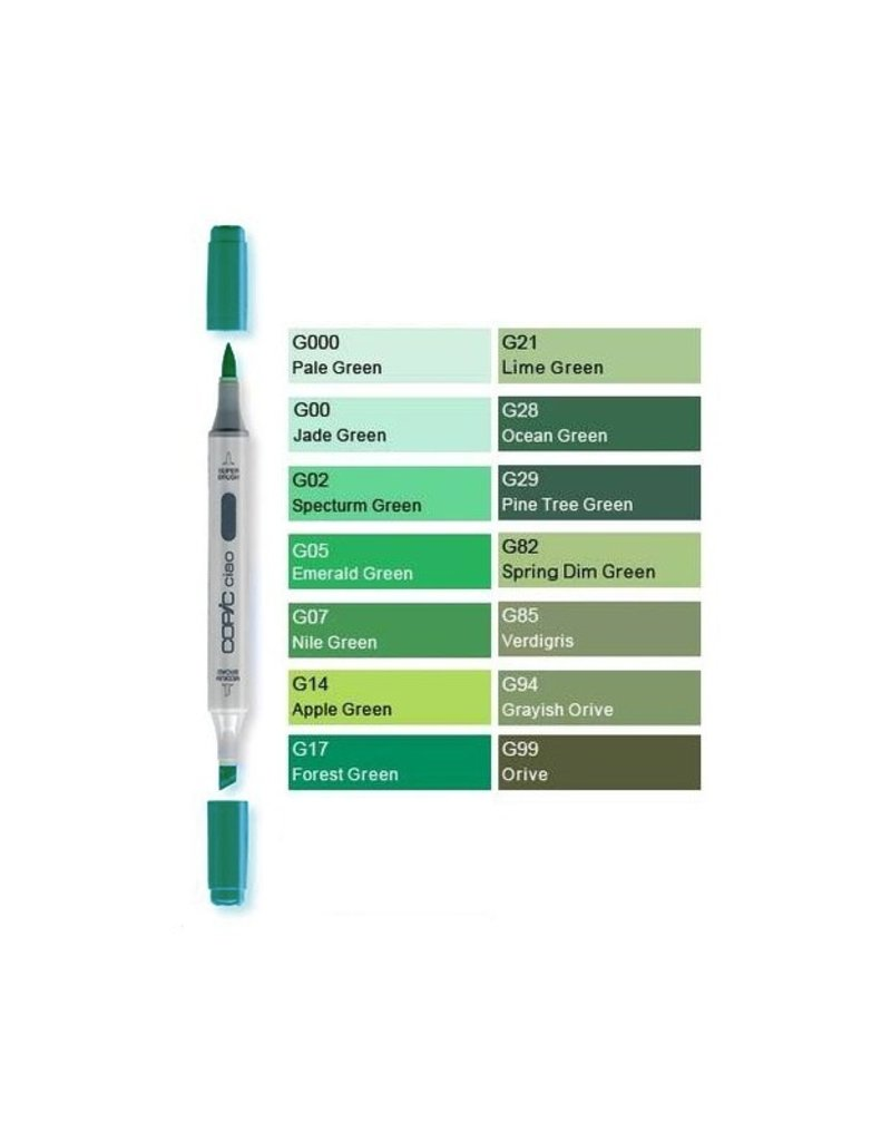 Copic Copic Ciao Yellow Greens