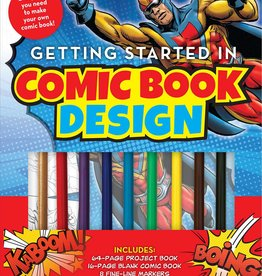 Simon & Schuster Getting Started in Comic Book Design