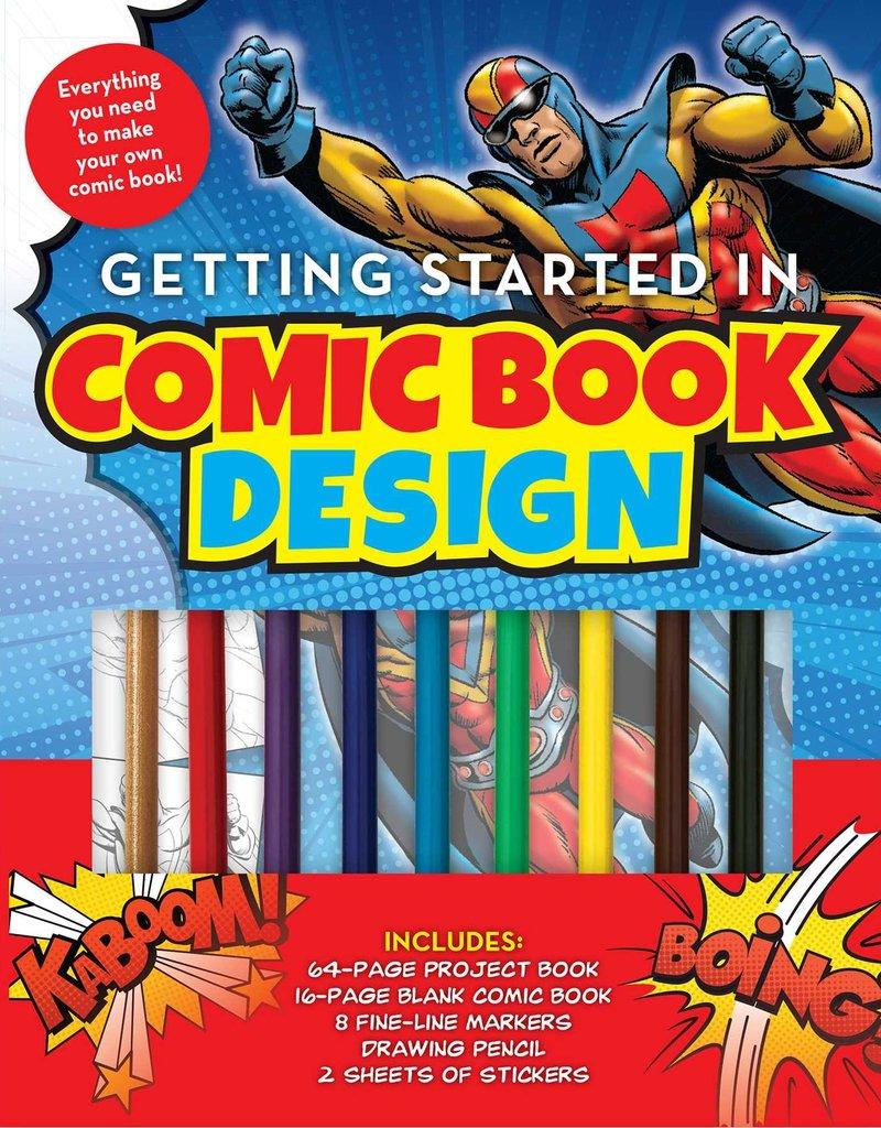 Simon & Schuster Getting Started in Comic Book Design