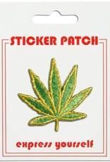 The Found Sticker Patch Pot Leaf