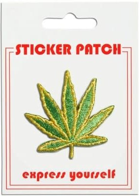 The Found Sticker Patch Pot Leaf