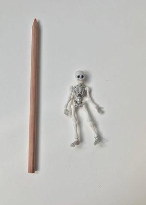collage Mini Skeleton Figure