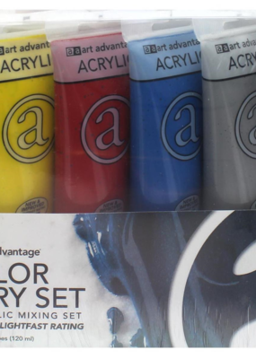 Art Advantage Acrylic Paint Set Primary Color Theory