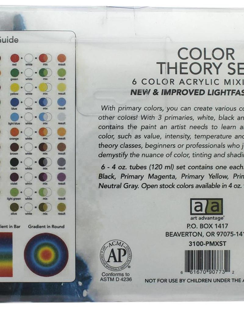 Art Advantage Acrylic Paint Set Primary Color Theory
