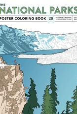 Simon & Schuster National Parks Poster Coloring Book