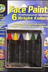 Crafty Dab Crafty Dab Face Paint Jumbo Crayon Set Bright
