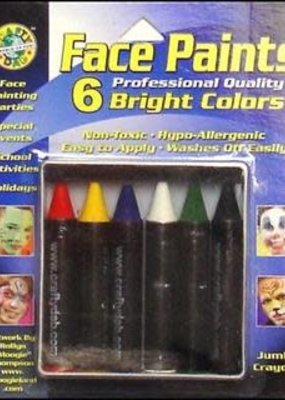 Crafty Dab Crafty Dab Face Paint Jumbo Crayon Set Bright
