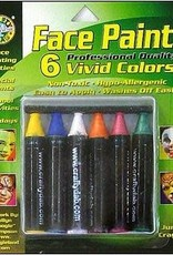 Crafty Dab Crafty Dab Face Paint Jumbo Crayon Set Vivid