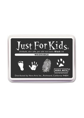 Hero Arts Just for Kids Ink Pad Washable Black
