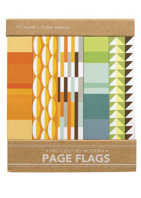 Girl of All Work Page Flags Mid-Century Modern