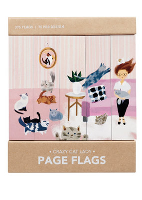 Girl of All Work Page Flags Crazy Cat Lady