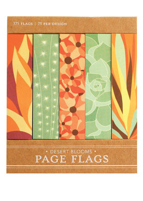 Girl of All Work Page Flags Desert Blooms