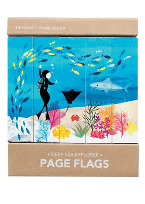 Girl of All Work Page Flags Deep Sea Explorer
