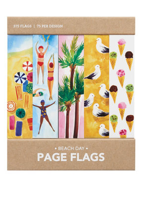 Girl of All Work Page Flags Beach Day