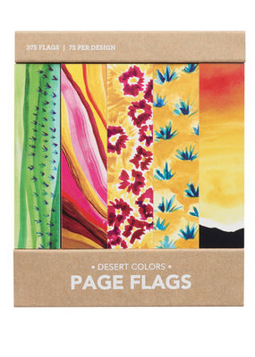 Girl of All Work Page Flags Desert Colors