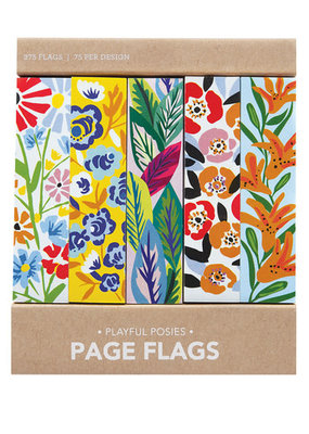 Girl of All Work Page Flags Playful Posies