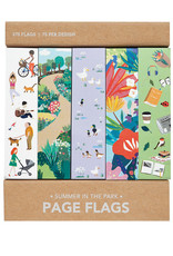 Girl of All Work Page Flags Summer In The Park