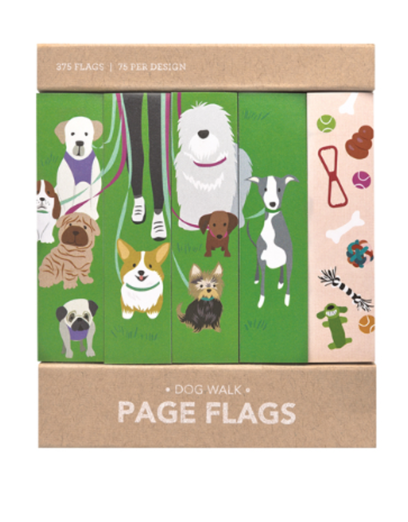 Girl of All Work Page Flags Dog Walk