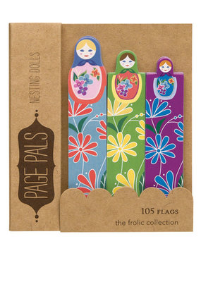 Girl of All Work Page Pals Nesting Dolls