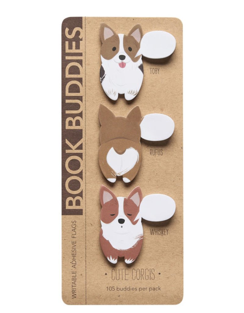 Girl of All Work Book Buddies Cute Corgies