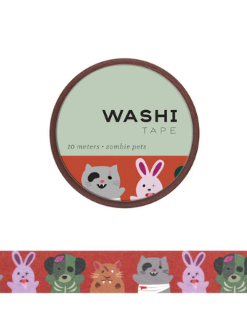 Girl of All Work Washi Zombie Pets