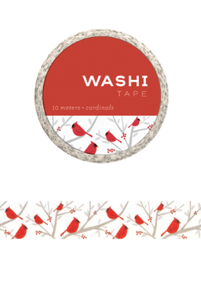 Girl of All Work Washi Cardinals