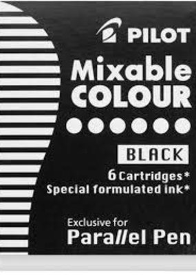 Pilot Pilot Parallel Pen Cartridge 6 Black