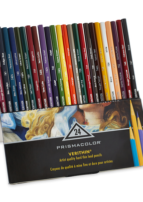 Prismacolor Prismacolor Verithin Colored Pencil 24 Color Set