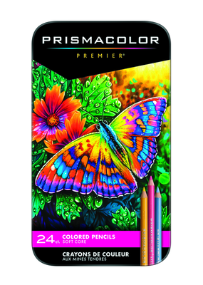 Prismacolor Prismacolor Premier Colored Pencils 24 Color Set