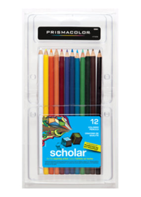 Prismacolor Prisma Scholar 12 Pencil Set