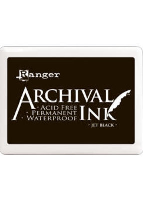 Ranger Ranger Archival Ink Pad Large Jet Black