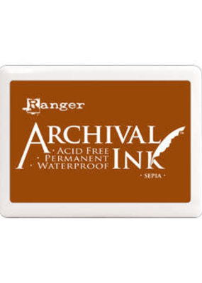 Ranger Ranger Archival Ink Pad Large Sepia