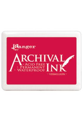 Ranger Ranger Archival Ink Pad Large Vermillion