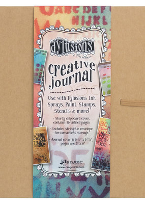 Dylusions Dylusions Creative Journal Square  8.75 X 9